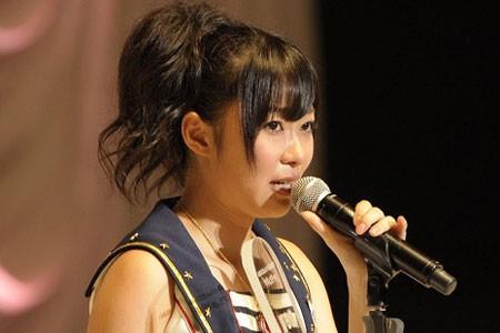 『第3回AKB48選抜総選挙』開票イベントの模様<br>9位 指原莉乃
