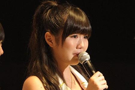 『第3回AKB48選抜総選挙』開票イベントの模様<br>27位 宮崎美穂