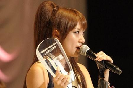『第3回AKB48選抜総選挙』開票イベントの模様<br>7位 高橋みなみ