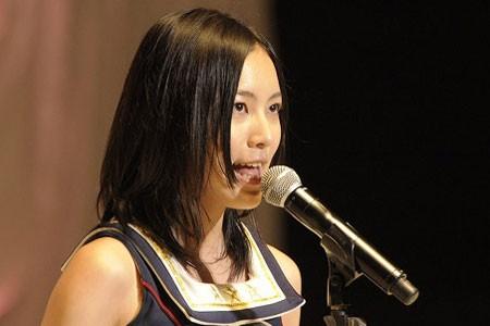 『第3回AKB48選抜総選挙』開票イベントの模様<br>14位 松井珠理奈