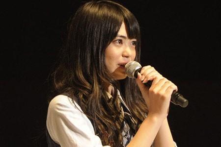 『第3回AKB48選抜総選挙』開票イベントの模様<br>37位 前田亜美