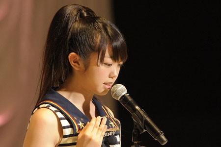 『第3回AKB48選抜総選挙』開票イベントの模様<br>15位 峯岸みなみ