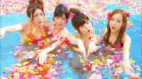 AKB48 「さよならクロール」MVカット<br>(左から)大島優子、渡辺麻友、島崎遥香、板野友美