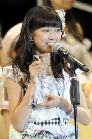 15位 NMB48 チームN(AKB48 チームB兼任) 渡辺美優紀 44,116票