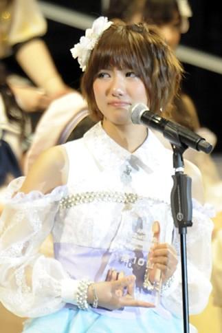 10位 SNH48(AKB48 チームK兼任) 宮澤佐江 65,867票