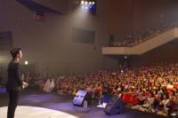 日本初開催となったファンミーティングの様子<br>⇒