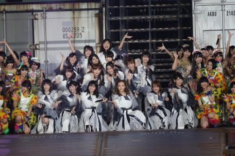 『AKB48 2013真夏のドームツアー』京セラドーム公演<1日目>の模様