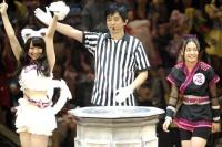 『34thシングル選抜じゃんけん大会』<br>名取稚菜vs湯本亜美