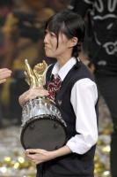 『34thシングル選抜じゃんけん大会』<br>優勝した松井珠理奈
