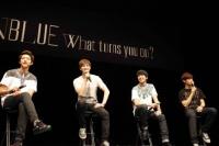 CNBLUE(左からイ・ジョンシン、イ・ジョンヒョン、ジョン・ヨンファ、カン・ミンヒョク)