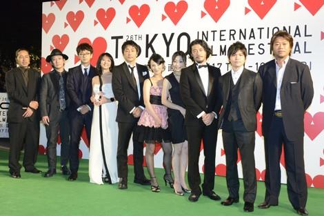 第26回 東京国際映画祭特集『豪華絢爛☆グリーンカーペット・フォトレポート』<br>⇒