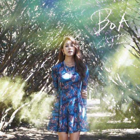 BoAのシングル「Message/Call my name」【CDのみ】