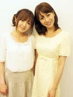 テレビ東京(左から)紺野あさ美、植田萌子 両アナウンサー<br><b>