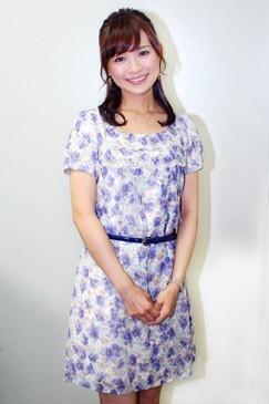 テレビ東京・繁田美貴アナウンサー<br><b>
