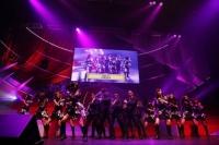 『第3回AKB48紅白対抗歌合戦』<br>ワールドオーダーによる「UZA」エキシビジョン・パフォーマンス (C)AKS