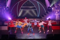 『第3回AKB48紅白対抗歌合戦』<br>【紅組 4曲目】剛力彩芽の「友達より大事な人」を歌う峯岸みなみ (C)AKS