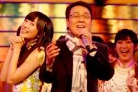 『第64回NHK紅白歌合戦』の初日リハーサルに参加した<br>五木ひろしのステージに登場したAKB48の指原莉乃と渡辺麻友<br>[出場43回目/「博多ア・ラ・モード」]<br><br>