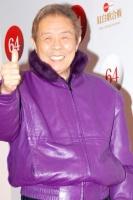『第64回NHK紅白歌合戦』の初日リハーサルに参加した<br>白組のトリを務める演歌歌手の北島三郎[出場50回目/「まつり」]<br><br>