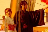 『第64回NHK紅白歌合戦』の初日リハーサルに参加した<br>演歌歌手の伍代夏子のステージに登場したAKB48の高橋みなみと柏木由紀<br>[出場20回目/「金木犀」]のステージに登場したAKB48の高橋みなみと柏木由紀<br><br>