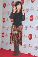 『第64回NHK紅白歌合戦』の初日リハーサルに参加した<br>演歌歌手の伍代夏子[出場20回目/「金木犀」]<br><br>