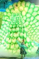 『第64回NHK紅白歌合戦』の初日リハーサルに参加した<br>水森かおり[出場11回目/「伊勢めぐり」]