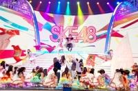 『第64回NHK紅白歌合戦』の初日リハーサルに参加した<br>SKE48[出場2回目/「「賛成カワイイ!」]<br><br>