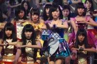 『第64回NHK紅白歌合戦』の初日リハーサルに参加した<br>NMB48[初出場/「カモネギックス」]<br><br>