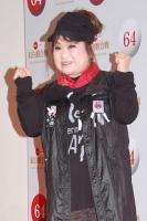『第64回NHK紅白歌合戦』の初日リハーサルに参加した<br>演歌歌手の天童よしみ<br>[出場18回目/「ふるさと銀河」]<br><br>