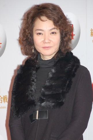 『第64回NHK紅白歌合戦』の初日リハーサルに参加した<br>演歌歌手の香西かおり<br>[出場17回目/「酒のやど」]<br><br>