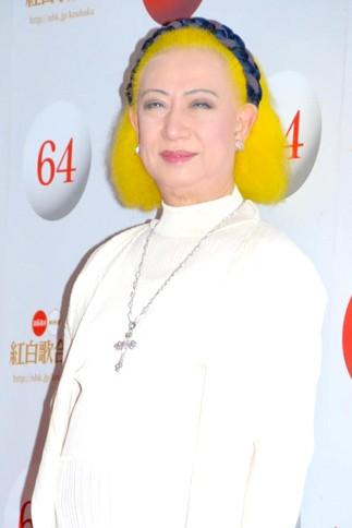 『第64回NHK紅白歌合戦』の初日リハーサルに参加した<br>美輪明宏[出場2回目/「ふるさとの空の下に」]<br><br>