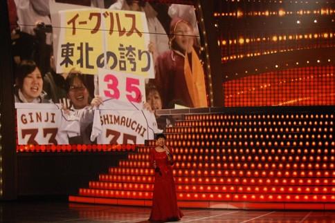『第64回NHK紅白歌合戦』の2日目リハーサルに参加した<br>和田アキ子[出場37回目/「今でもあなた」]<br><br>