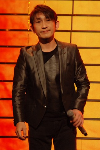 『第64回NHK紅白歌合戦』の初日リハーサルに参加した<br>演歌歌手の福田こうへい<br>[初出場/「南部蝉しぐれ」]<br><br>