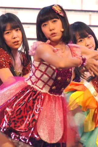 『第64回NHK紅白歌合戦』の初日リハーサルに参加した<br>NMB48の渡辺美優紀[初出場/「カモネギックス」]<br><br>