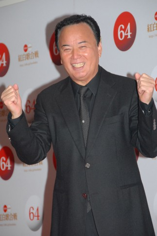 『第64回NHK紅白歌合戦』の初日リハーサルに参加した<br>細川たかし[出場37回目/「浪花節だよ人生は 2013」]<br><br>