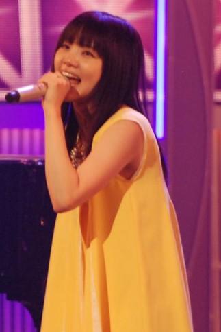 『第64回NHK紅白歌合戦』の初日リハーサルに参加した<br>いきものがかりの吉岡聖恵<br>[出場6回目/「笑顔」]<br><br>
