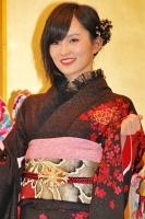 2014年のAKB48グループ 成人式記念撮影会に出席した<br> NMB48 チームN 山本彩