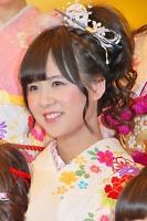 2014年のAKB48グループ 成人式記念撮影会に出席した<br> AKB48 チームA 佐藤すみれ
