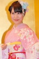 2014年のAKB48グループ 成人式記念撮影会に出席した<br> SKE48 チームKII 高木由麻奈