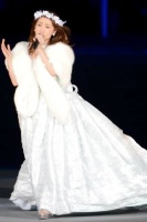 『AKB48単独 春コンin国立競技場』(3月29日)の模様<br>大島優子のソロステージ