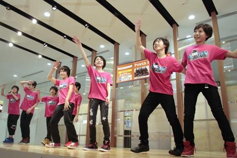 『Power Push Live』に出演したEBiDAN TOKYO 39