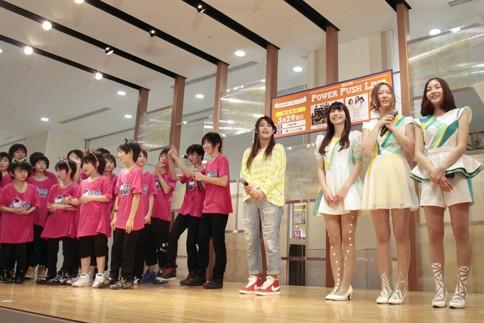 『Power Push Live』に出演したEBiDAN TOKYO 39、Suzu、Ring-Trip