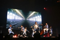 GOT7(左からマーク、ユギョム、JB、ジャクソン、Jr.、ヨンジェ、ベンベン)