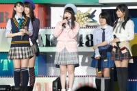 『AKB48グループ春コンinさいたまスーパーアリーナ〜思い出は全部ここに捨てていけ!〜』<br>HKT48単独公演の模様<br>木本花音があいさつ