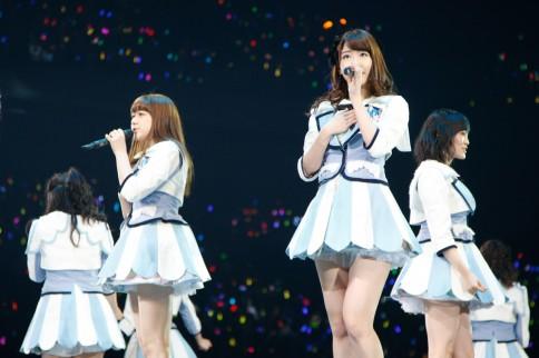 『AKB48グループ春コンinさいたまスーパーアリーナ〜思い出は全部ここに捨てていけ!〜』<br>NMB48単独公演の模様<br>「ここにだって天使はいる」