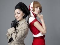 石川さゆり(左)の新曲を椎名林檎がプロデュース<br> <br>
