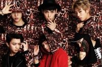 B.A.P (上段左から)バン・ヨングク、ヒムチャン、デヒョン(下段左から)ヨンジェ、ジョンアプ、ZELO<br>