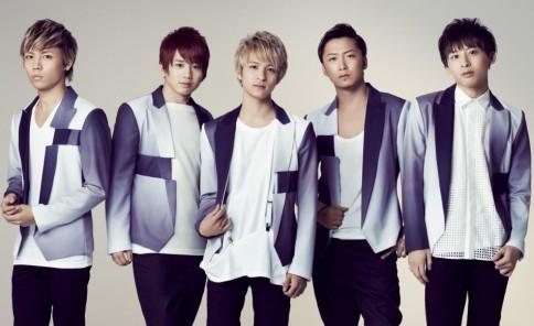 Da-iCE(左から岩岡徹、花村想太、和田颯、大野雄大、工藤大輝)