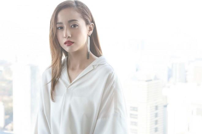 映画『不能犯』インタビューに答える沢尻エリカ