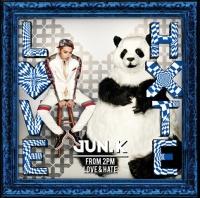 Jun. K(From 2PM)のアルバム『LOVE & HATE』【初回生産限定盤A】