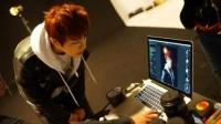防弾少年団(BTS)のデビューシングル「NO MORE DREAM -Japanese Ver.-」のジャケット写真撮影の様子<br>JIN(ジン)